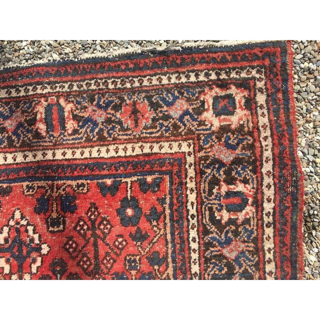 "Gorgeous Persian Vintage Wool Rug - 51"" x 73"" - Image 3 of 5"