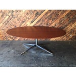 Image of Mid-Century Refinished Knoll Style Dining Table