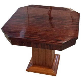 Gouffe French Art Deco Occasional Table