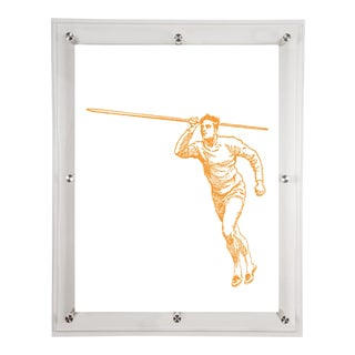 Mitchell Black Home Yellow Javelin Art