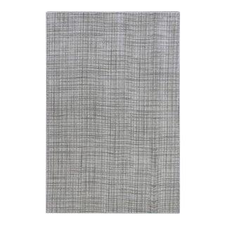 Gray Minimalist Rug- 5′ × 7′6″