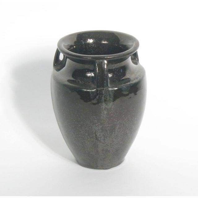 Vintage Fulper Black Vase - Image 3 of 4