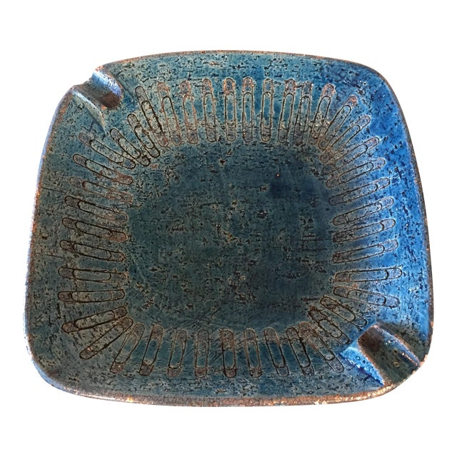 Bitossi Blue Bowl From Italy - Image 1 of 9