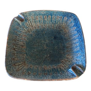 Bitossi Blue Bowl From Italy