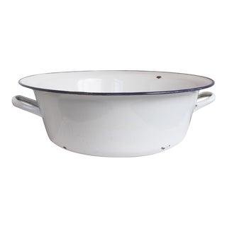 Hungarian Enamelware Wash Basin