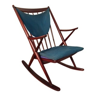 Bramin Mobler Frank Reenskaug Rocking Chair