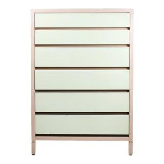 Superior Sleeprite Corp Mid-Century Modern Pink Steel Dresser