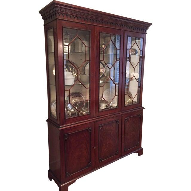 Image of Mahogany China Display Cabinet