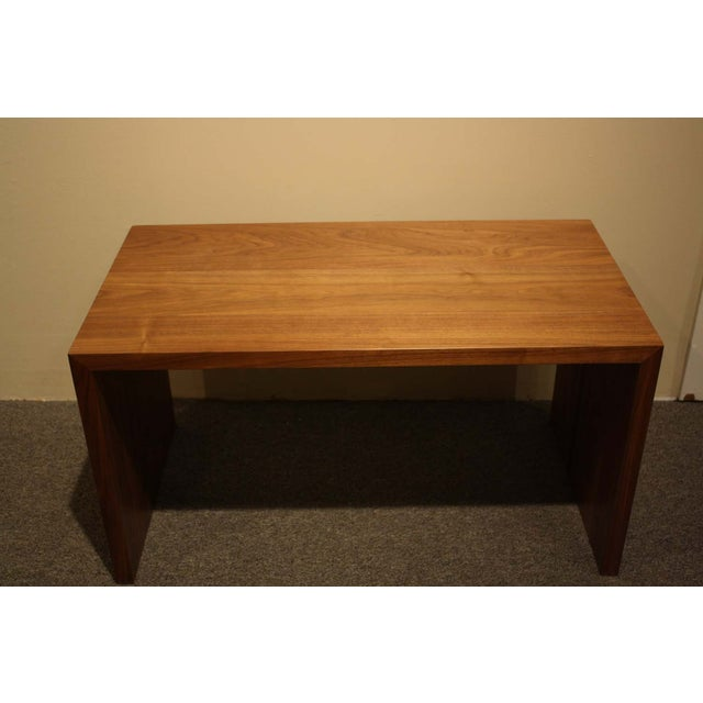 Vioski Solid Walnut Hand Crafted Coffee Table - Image 2 of 5