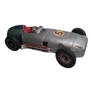 Vintage Mercedes Benz W196 Monoposto Race Car Toy