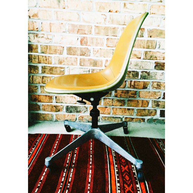 Herman Miller Eames Upholstered Fiberglass Shell Chair - Vintage - Image 3 of 8