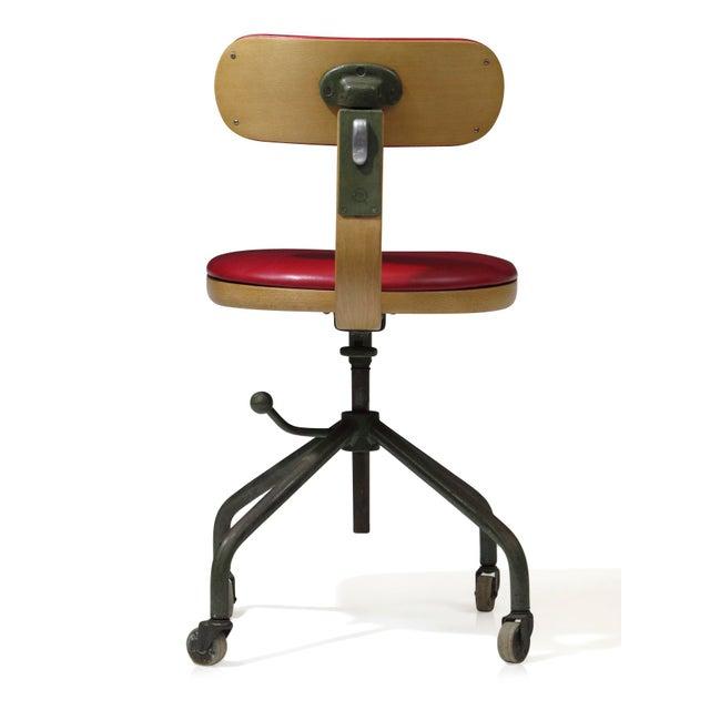 1931 Jorgen Rasmussen for Fritz Hansen Office Chair - Image 3 of 9