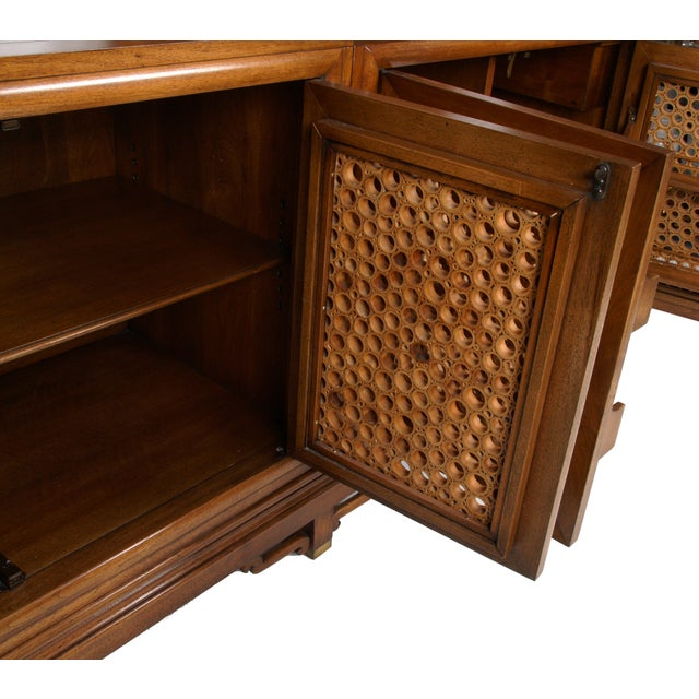 Signed Pierre Bartet Walnut Bar Cabinet - Image 6 of 11