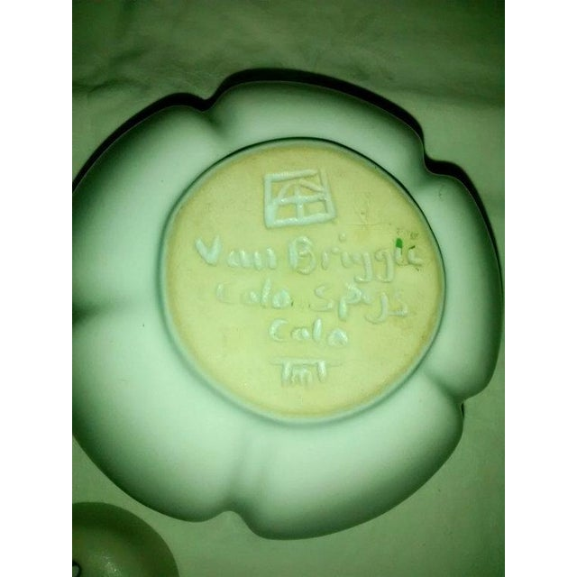 Image of Vintage Van Briggle White Lotus Vase