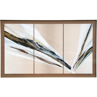 1975 Abstract Serigraph Triptych