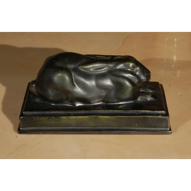 Sleeping Hare Sculpture - Image 5 of 6