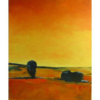 Warm Sky Painting by B. Woosley