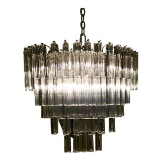 Venini Oval Crystal Chandelier
