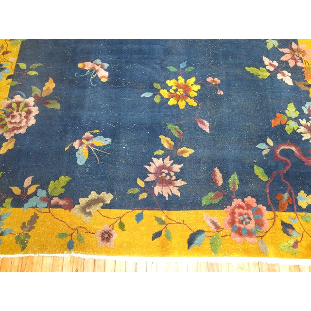 Chinese Art Deco Rug, 9' x 11'9'' - Image 3 of 9