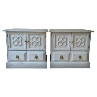 Conant Ball Neoclassical Nightstands - a Pair