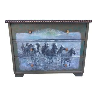 Pottery Barn Equestrian Horse Dresser