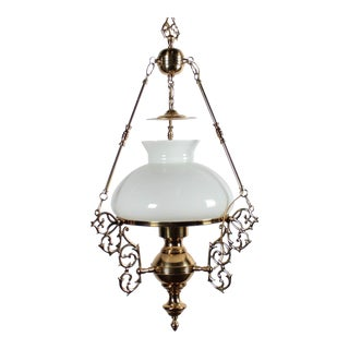 Arabian Motif Brass Chandelier