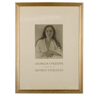Georgia O'Keeffe, A portrait by Alfred Stieglitz Metropolitan Museum Poster