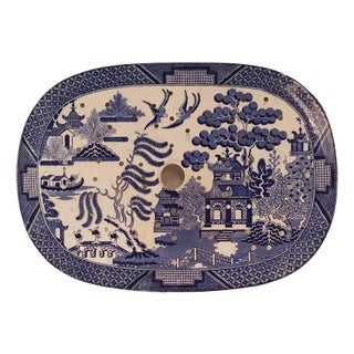 Blue Willow 'Steamer'Platter