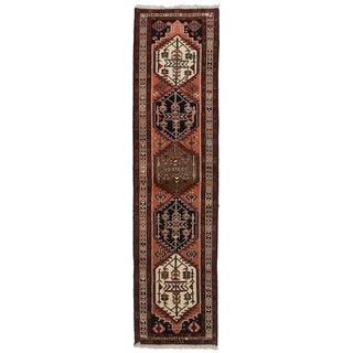 """Vintage Persian Ardebil Wool Runner - 2'5"""" x 9'9"""""""