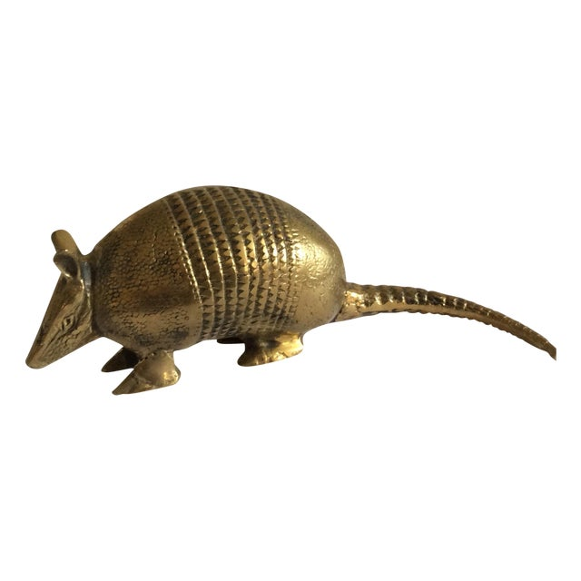 Brass Armadillo Figurine - Image 1 of 6