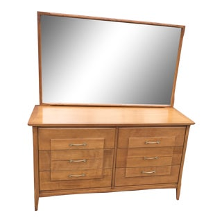 Mid-Century Heywood Wakefield Topaz Dresser
