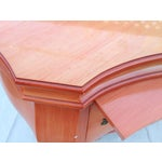 Image of Salmon Lacquer Bombay Chests with Trays - A Pair