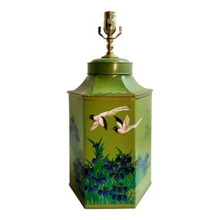 Vintage Japanese Style Tea Canister Lamp