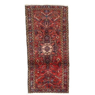 "Pasargad NY Semi-Antique Persian Heriz Hand-Knotted Rug - 2'10"" x 6'"