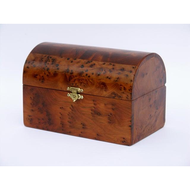 Decorative Juniper Burl Wood Box - Image 2 of 10