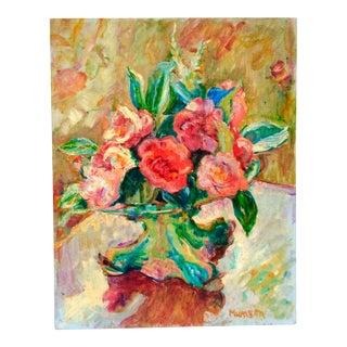 Vintage Impressionist Still Life Painting