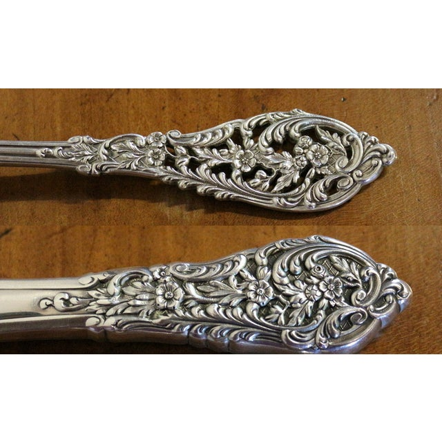1950s Sterling Silver Flatware & Serving Pieces - Image 3 of 6