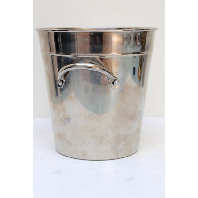Silverplated Ice Bucket with Handles - Image 5 of 7