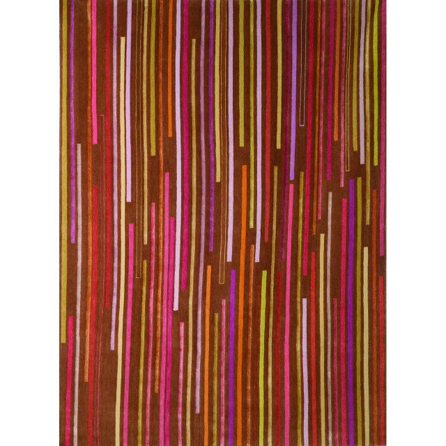 """Tiny Stripes"" Rug by Emma Gardner - Image 3 of 5"