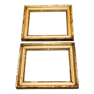 Antique Gilt Wood Frames - A Pair