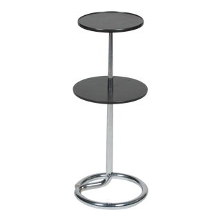 Two Tier Bakelite and Chrome Table by Stablet