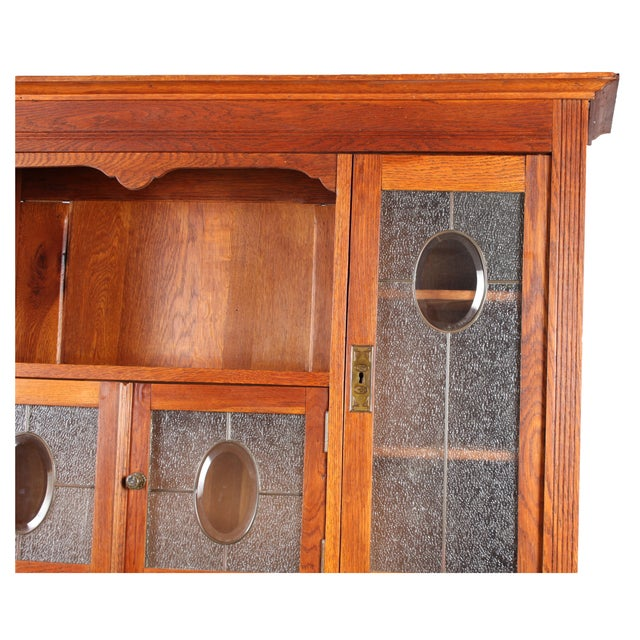 1920s arts and crafts style cabinet chairish. Black Bedroom Furniture Sets. Home Design Ideas