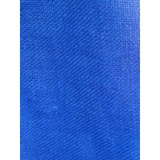 Royal Blue Burlap Fabric - 2.6 Yards