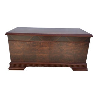 Dillingham Blue Bird Cedar Chest