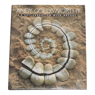 "Andy Goldsworthy ""A Collaboration With Nature"" 1st Edition Book"