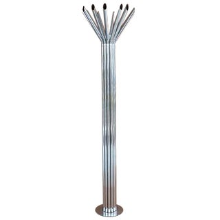 Mid-Century Chrome Tubular Floor Lamp by Kovacs