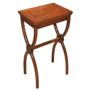 X Leg Side Table