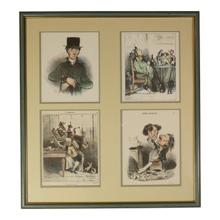 1900 Fernand Mourlot Colored Lithographs