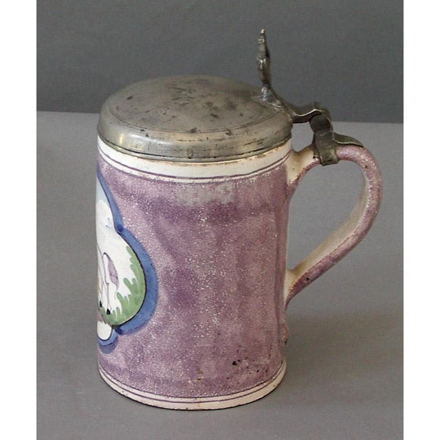 Image of Collection of Three Hanoverian Tankards (#74-09)