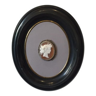 Antique Victorian Framed Cameo